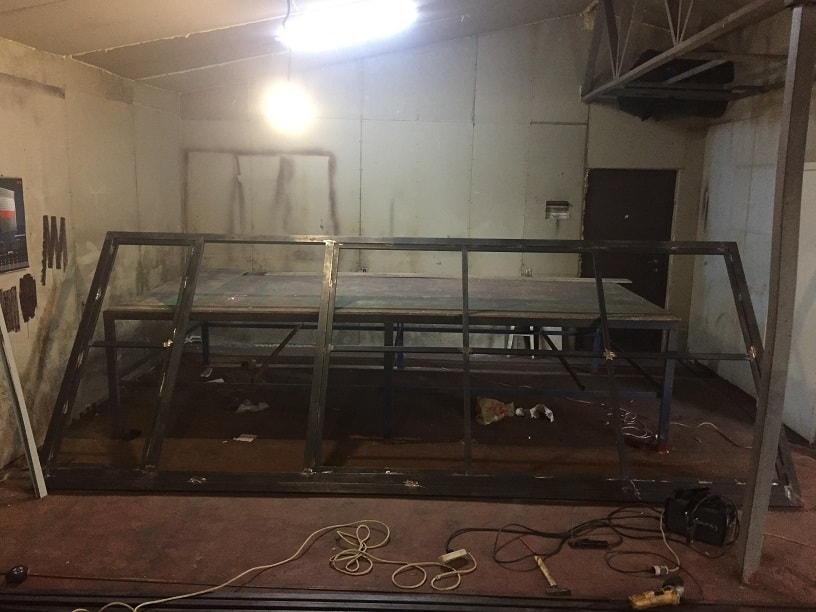 Изготовление, монтаж откатных ворот с верхней балкой и автоматикой