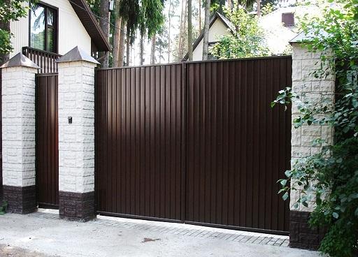 Распашные ворота DoorHan в Волгограде