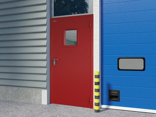 Двери противопожарные DoorHan одностворчатые