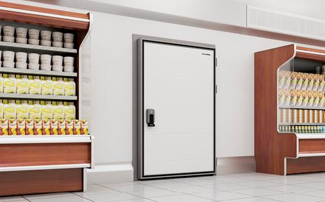 Распашная Холодильная дверь дорхан