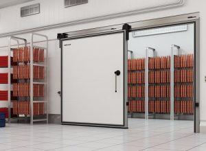Дверь откатная для холодильных помещений дорхан