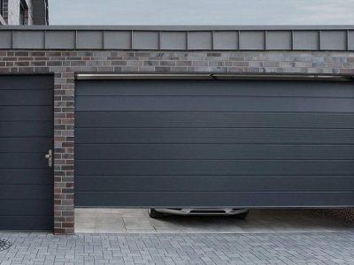 Секционные ворота для гаража в Волгограде купить.