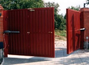 Распашные ворота DoorHan.